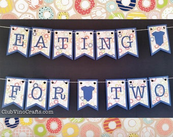 Eating For Two Banner - Donuts Design