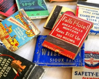 Old Vintage Matchbooks / Lot of 10