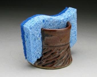 Sponge Holder - Black/Brown