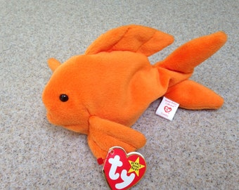 Vintage 1993 Ty Goldie the Goldfish Beanie Baby
