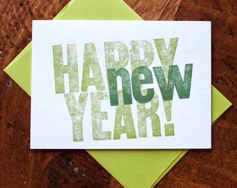 Happy New Year - Card