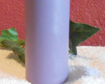 One, Beautiful Women's Type Scented Pillar Candle, Soy, Pink, Centerpiece, Wedding, Anniversary, Gift
