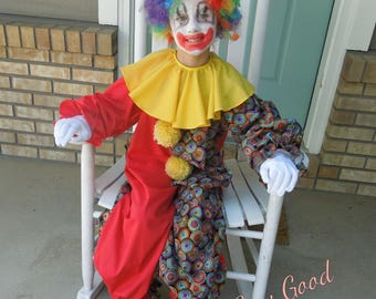 Clown Costume for Toddler sizes 2-4