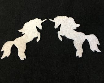 Felt Unicorn for Wax Dipping. DIY Kits for Independent Consultants-Parties-Decorations-Embellishments-Bible Journaling-Planner Accessories
