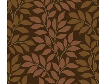 BL0316 Leaf Branch Stripe Leaves Wallpaper