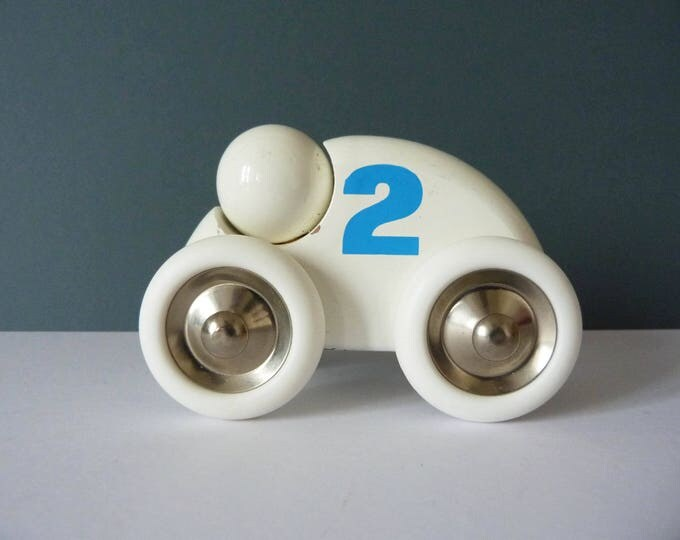 Vitra Push along wooden toy car
