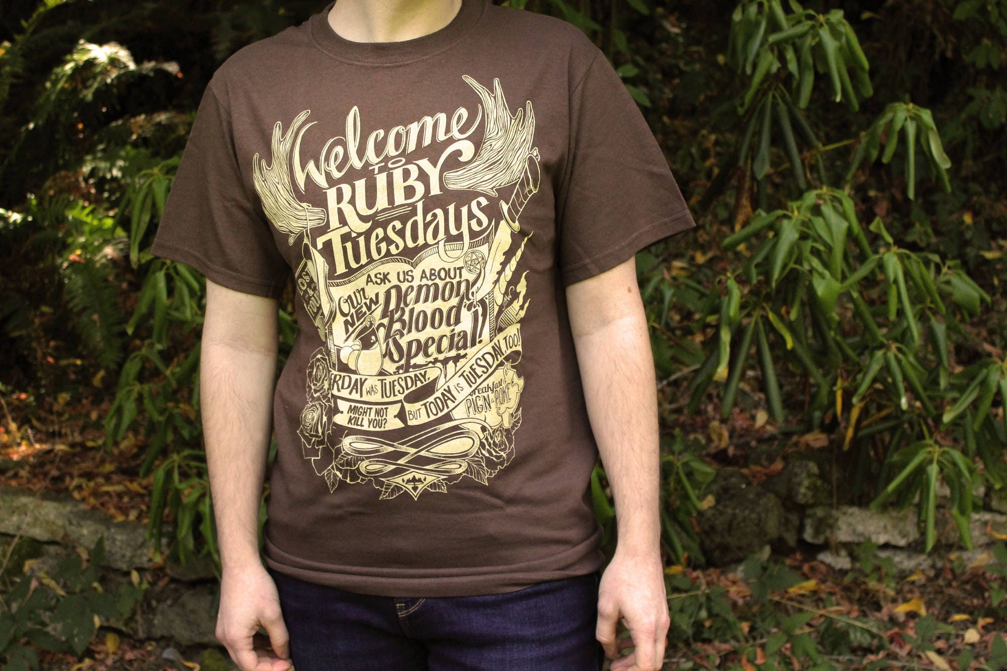 Supernatural Sam Winchester T Shirt