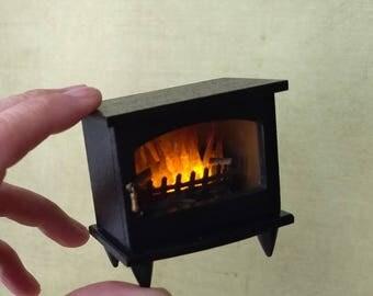 Wood Burning Stove Etsy