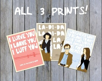 Annie Hall Print PACK - 3 Prints!