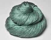 Sea grass in the sun -  Cordonnette Silk Fingering Yarn