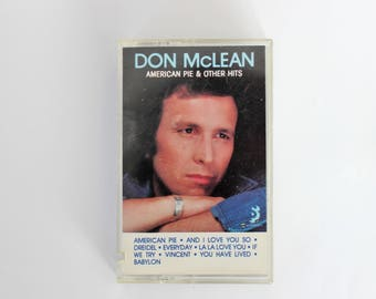 Don McLean American Pie and Other Hits // greatest hits pop rock