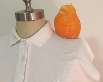 Vintage BOAST POLO SHIRT, White Polo Shirt, Pot Shirt, Marijuana Shirt, Womens Pot Leaf Shirt, Small, Weed Shirt, Hemp, Hash at Modern Logic
