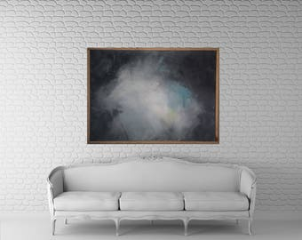 Large acrylic art painting abstract, 40x30, Abstract Art, Kris Gould, Framed Art, Modern Painting, Large wall art, Acrylic