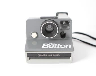 vintage POLAROID CAMERA mid 80s color block instant CAMERA tested and in excellent condition!