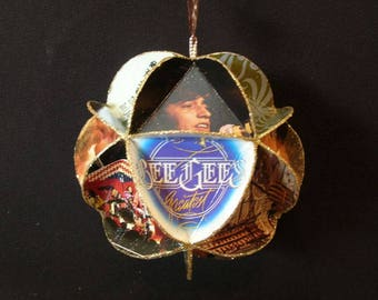 The Bee Gees Album Cover Ornament Made Of Record Jackets BeeGees