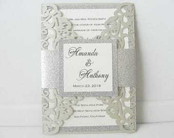 wedding invitations wedding invites laser cut wedding invitations laser cut wedding invites