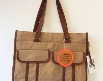 Vintage Dead Stock With Tags Canvas Tote Bag