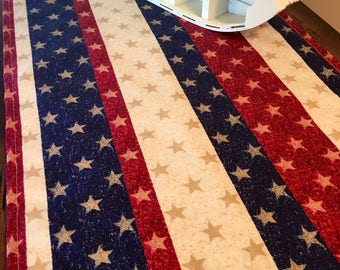 4th of July Table Runner | Patriotic Table Runner | USA | Home Decor | Patriotic Centerpiece | Flag Decor | American Flag