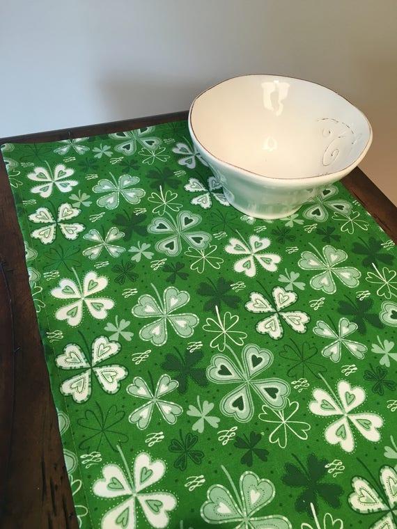 Irish Home Decor Clover Tablecloth Celtic Home Decor