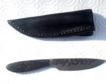 Snake Hunter Knife with Dinosaur Bone Handle
