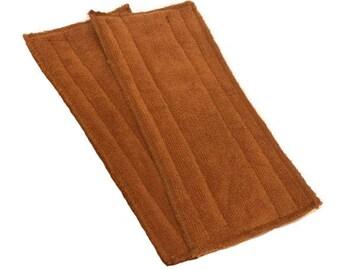 Swiffer Wet Jet Pads- Set of 2- BROWN- Microfiber- Refill- Reusable- Ecofriendly- #14010