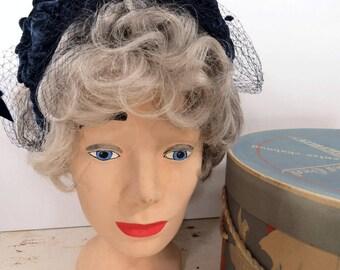 Vintage MOD Mannequin Head, Hat, Wig Shop Display, Millinery Supply
