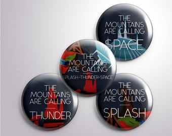 The (Disney) Mountains are Calling! Splash - Thunder - Space