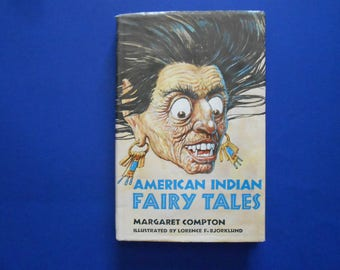 American Indian Fairy Tales, a Vintage Children's Book