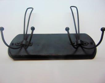 Vintage Metal Coat Rack