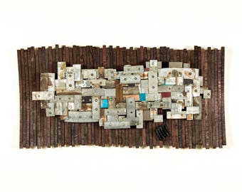 """STUDIO - """"Sectis"""" - Art and wall light, Limited Edition - 100% recycled"""