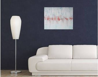 STARVING ARTIST Sale Abstract Painting - Textured Acrylic- Unique Original Modern Contemporary Art