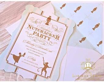 Sugar Plum Fairy Invitation Set by Loralee Lewis