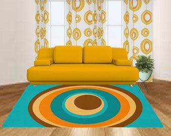 mid century modern rug modern area rug geometric area rug cool area rug