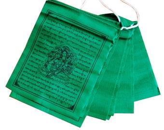 Tibetan Prayer Flags Solid Colours Prayer Flags From Nepal (Green)