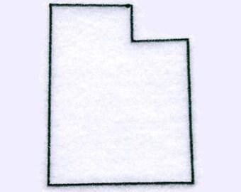Utah State Tea Towel | Personalized Kitchen Towel | Embroidered Tea Towel | Embroidered Towel | Embroidered Kitchen Towel | Utah Souvenir