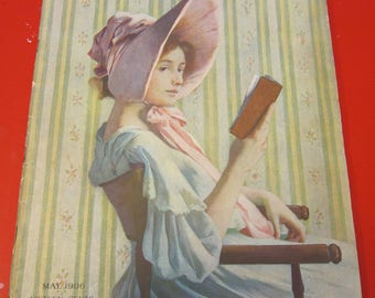 Magazine, Antique, Vintage, Fashions, Ads and Lots More: 1906, The Ladies Home Journal