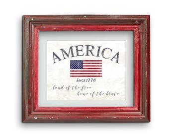 America Since 1776 Print {Digital}