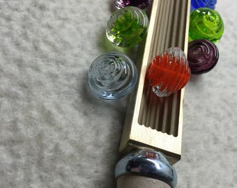 Rock an Roll 20mm Bead Roller for Hot Glass Lampworking