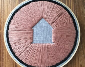 Hand Embroidered Home Relief