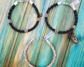 3 Horse Hair Bracelets Reserved for horsetme