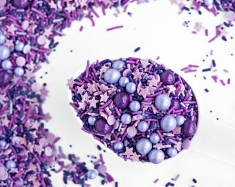 VIOLET DREAMS Sprinkle Medley, Gluten-Free, Sweetapolita