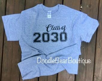 Class of 2030 tee