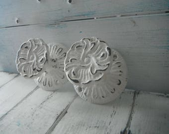 one pair curtain tie backs jewelry holder door handle furniture knob wall hook coat hook shabby chic cottage decor country cottage