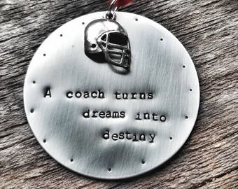 Coach Christmas Ornament - Gift For Coach Football - Gift For Coach - Gymnastics Coach Gifts - Thank you gift For Coach - Soccer Coach Gift