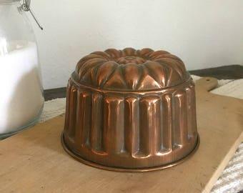 Vintage copper mold - Reamer