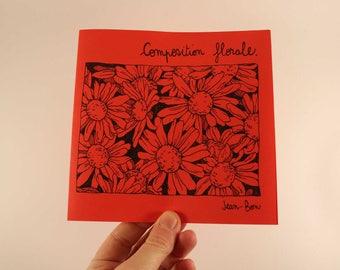 fanzine zine floral composition