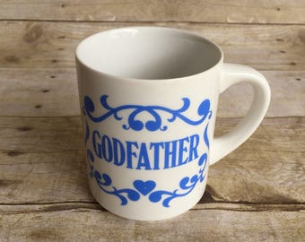 Godfather Mug - Fathers Day Retro Cup