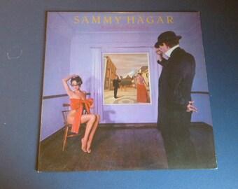 Sammy Hagar Standing Hampton Vinyl Record Lp GHS 2006 Geffen Records 1981
