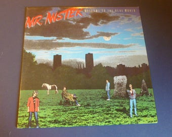 Mr. Mister Welcome To The Real World Vinyl Record LP NFL1-8045 RCA Victor 1985