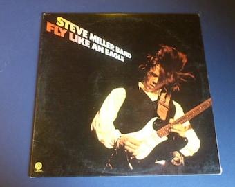 Steve Miller Band Fly Like An Eagle Vinyl Record LP ST-11497 Capital Records 1976